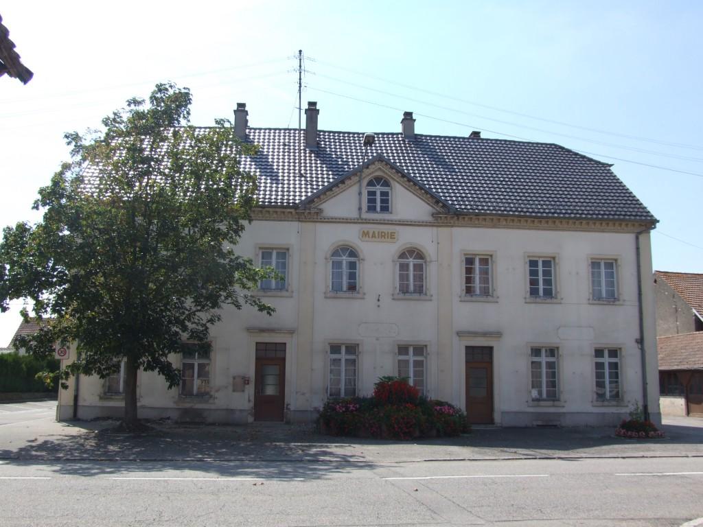 L'ancienne mairie.