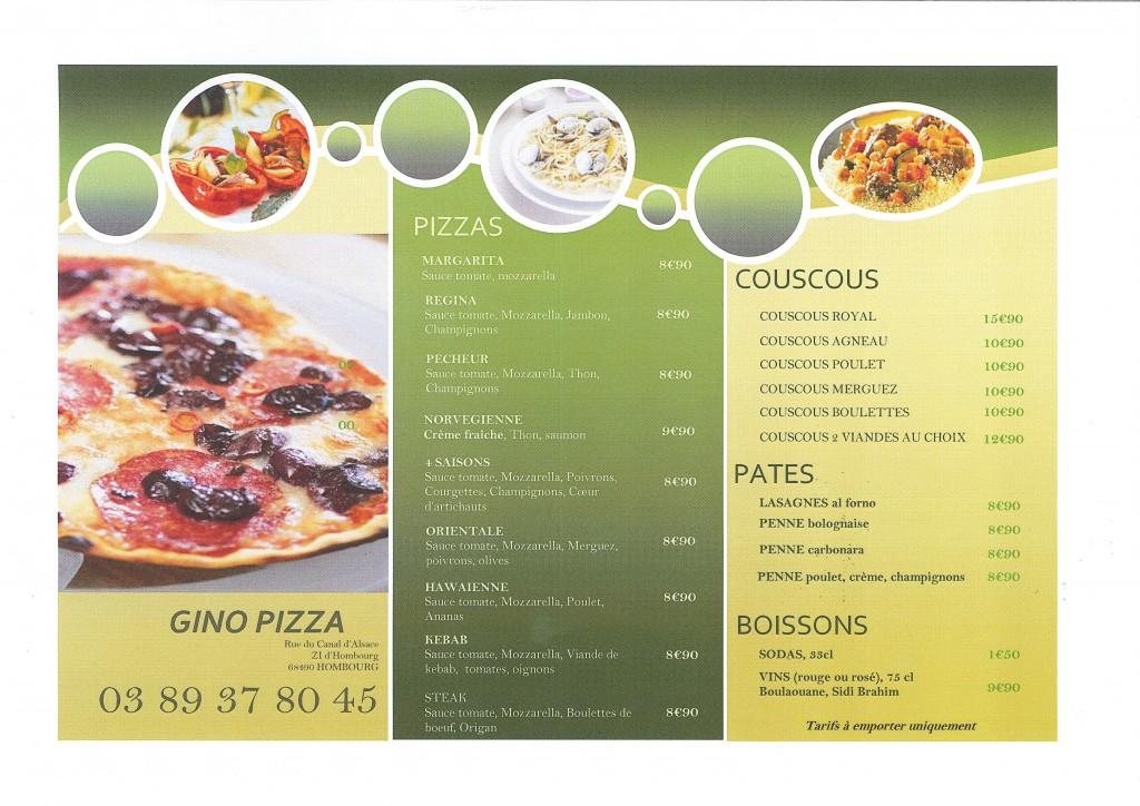 GINO PIZZA